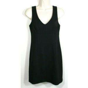 BCBG Sleeveless Little Black Sheath Dress 2192E1